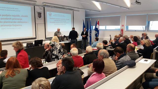 Dodijeljena priznanja Hrvatske planinarske obilaznice