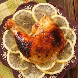 Simple Honey-Lemon Roasted Chicken