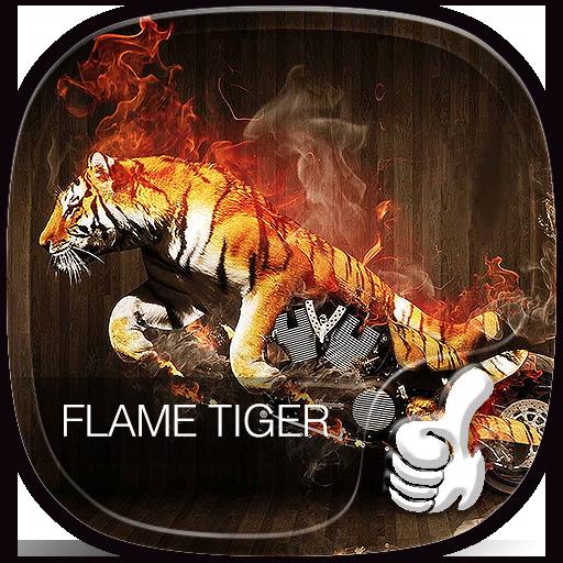 Flame Tiger locomotive theme (app)