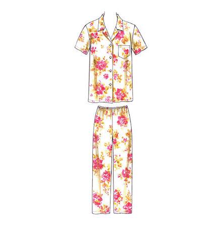 Pyjamas Kwik Sew 3553