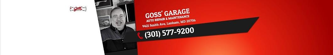 Goss' Garage Banner