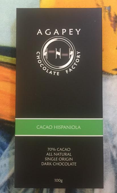 70% hispaniola agapey bar