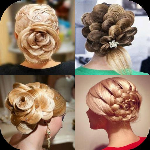 生活の花のヘアスタイル LOGO-記事Game