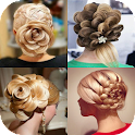 Flower Hairstyles icon