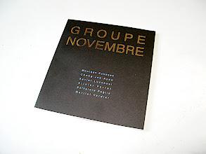 Photo: © The Museum of Photography, Seoul  Catalogue Groupe Novembre