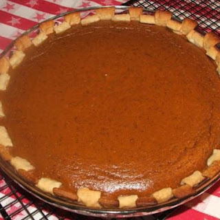 Better than Libby's Pumpkin Pie! Sshhh! hehe