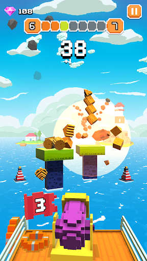 Blocky Tower - Knock Box Balls Ultimate Knock Out android2mod screenshots 7