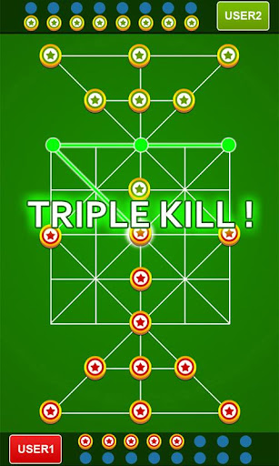 Bead 16 - Tiger Trap ( sholo guti ) Board Game ud83eudde0 1.05 screenshots 3