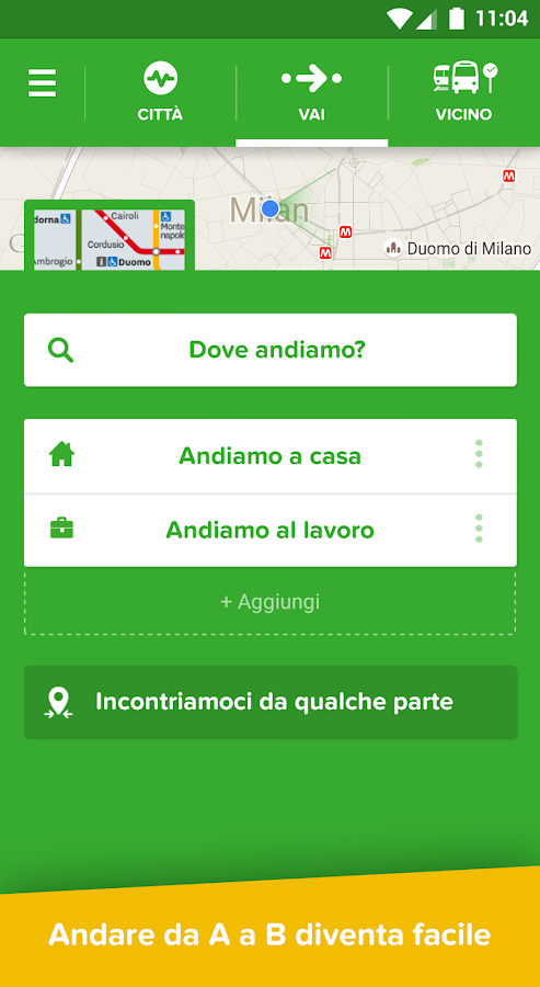 Citymapper: Metro, Bus e Treni- screenshot
