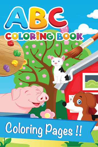 Alphabet Coloring book kid