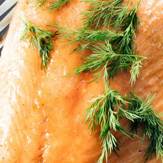 3-Ingredient Maple-Cardamom Salmon