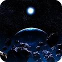 Asteroids Live Wallpaper icon