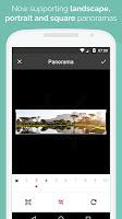 screenshot of Panorama for Instagram