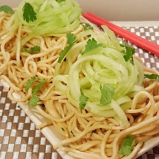 Pressure Cooker P.F. Chang's Garlic Noodles.