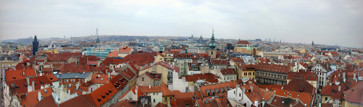 Photo: View from the clock tower