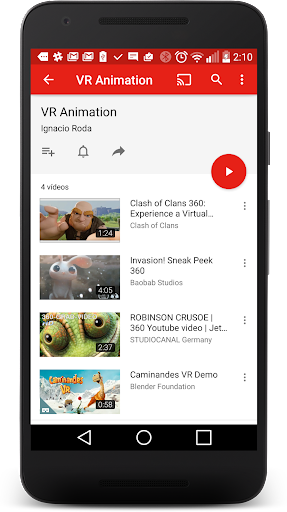 VR 360 videos for kids app (apk) free download for Android/PC/Windows screenshot