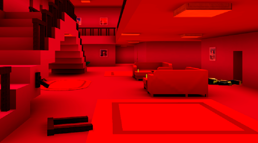 Horror In The Pink House. Escape Adventure apktram screenshots 3