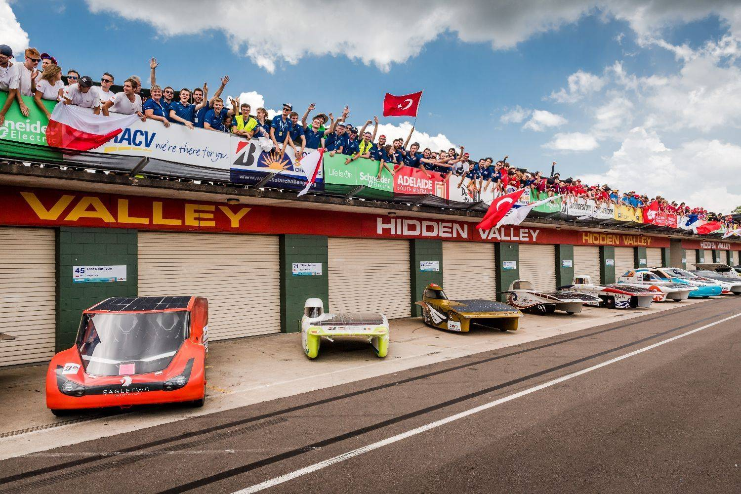 Belgian Solar Team in pole position at championship for solar cars