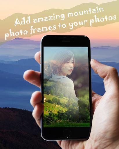 Mountain Frames Photo Editor
