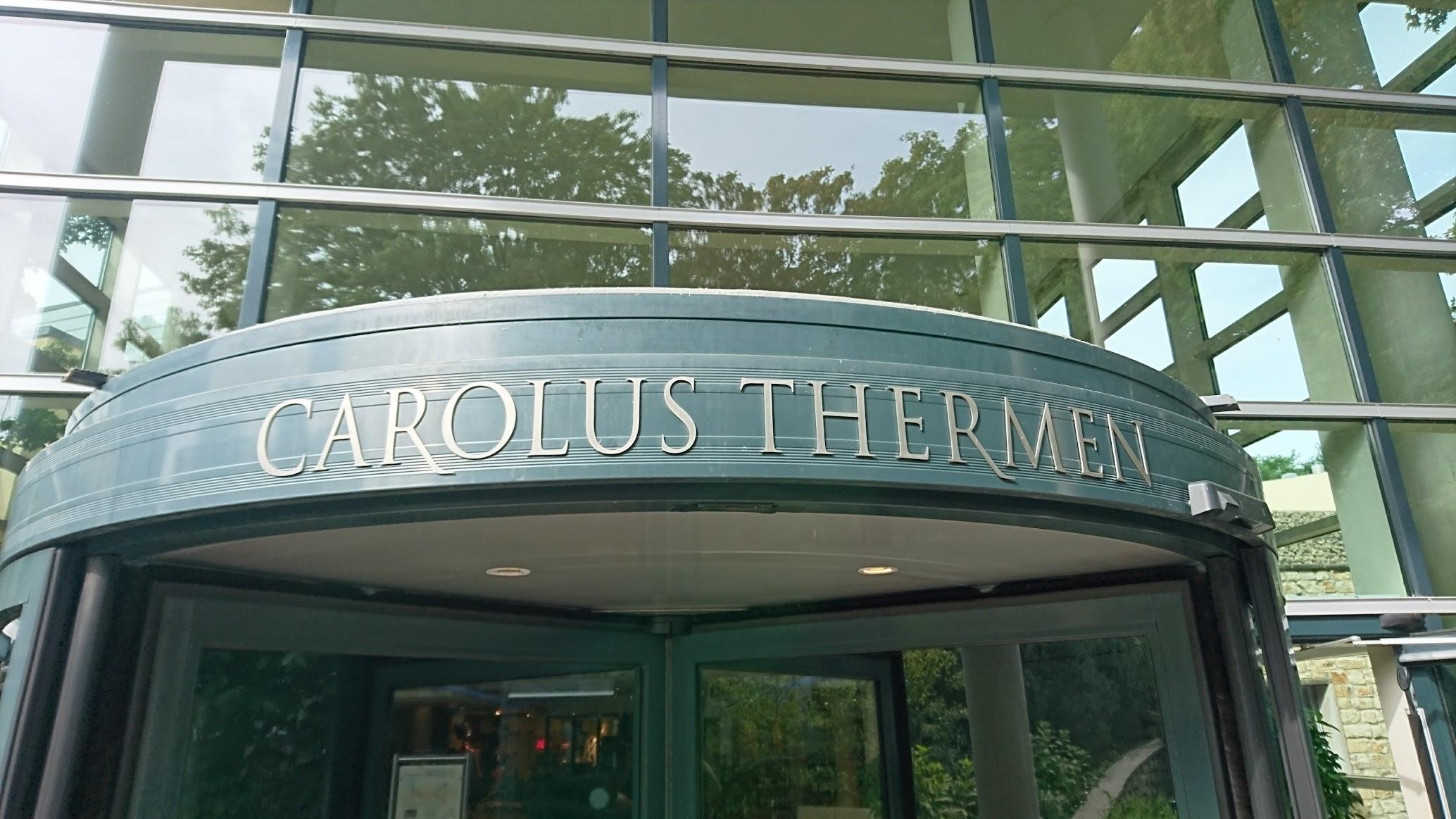 Carolus Thermen Bad Aachen Eingang