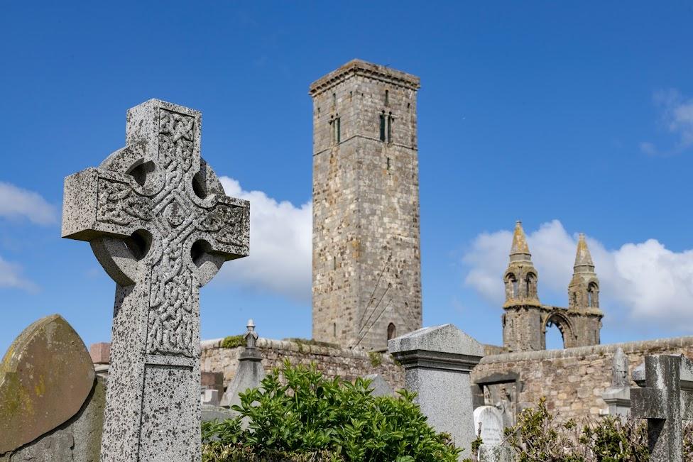 Szkocja, katedra w St Andrews