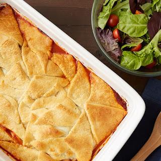 Crescent-Topped Italian Chicken Casserole Recipe