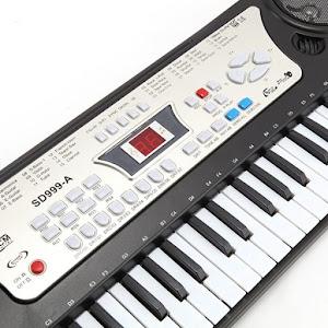 Orga electronica pentru copii, 54 de clape si microfon