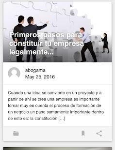Abogama Abogados Mexico Legal - náhled