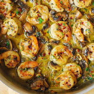 Shrimp Chicken Mushrooms Recipes.