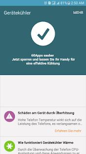 Gerätekühler - Wärme minimizer Screenshot