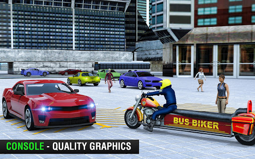 Bus Bike Taxi Driver u2013 Transport Driving Simulator apkdebit screenshots 10