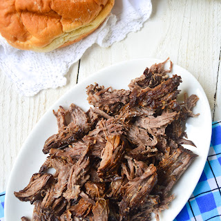 Slow Cooker Balsamic Roast Beef.