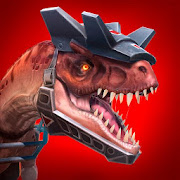 Game Jurassic Monster World: Dinosaur War 3D FPS v0.9.2 MOD FOR ANDROID | UNLIMITED AMMO