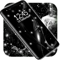 Black Live Wallpaper ⭐ Dark Mode Wallpapers Themes icon
