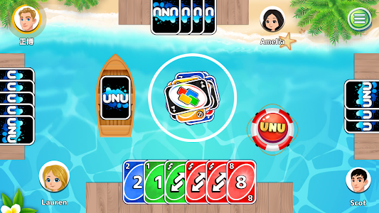 UNU - Crazy 8 Card Wars: Up to 4 Player Games! 1.1.52