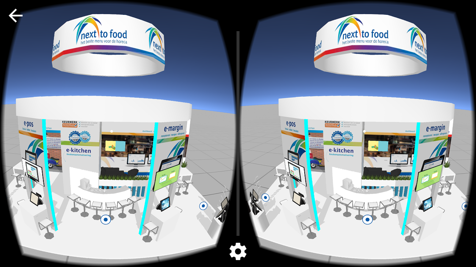 Next to Food VR- screenshot