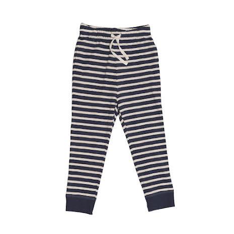 Ebbe Kids Folke Low Crotch pants Offwhite/Navy