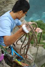 Photo: 收繩拖拉背包