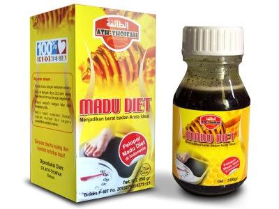 Madu Diet Ath-Thoifah Madu Diet Minuman Pelangsing Herbal Alami herbal penurun berat badan pelangsing cepat mudah aman