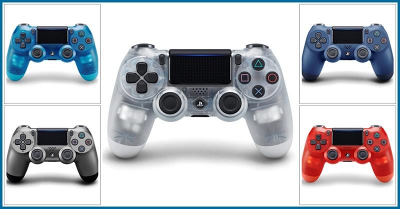[Playstation] เปิดตัวคอนโทรลเลอร์ไร้สาย (DUALSHOCK 4) 5 สีใหม่