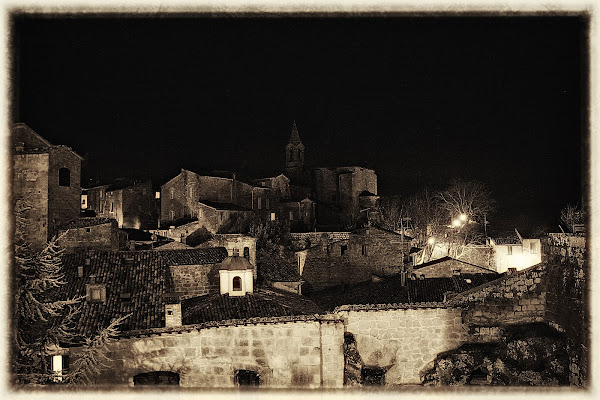 Notte al borgo di Maria Luisa Zoccolini