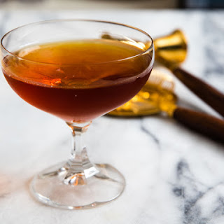 100-Year-Old Cigar (Rum, Scotch, and Cynar Cocktail).