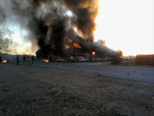Photos from Protests at Beitbridge Border @StanfromIBF