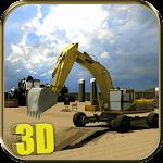 Heavy Excavator Simulator Sand Icon