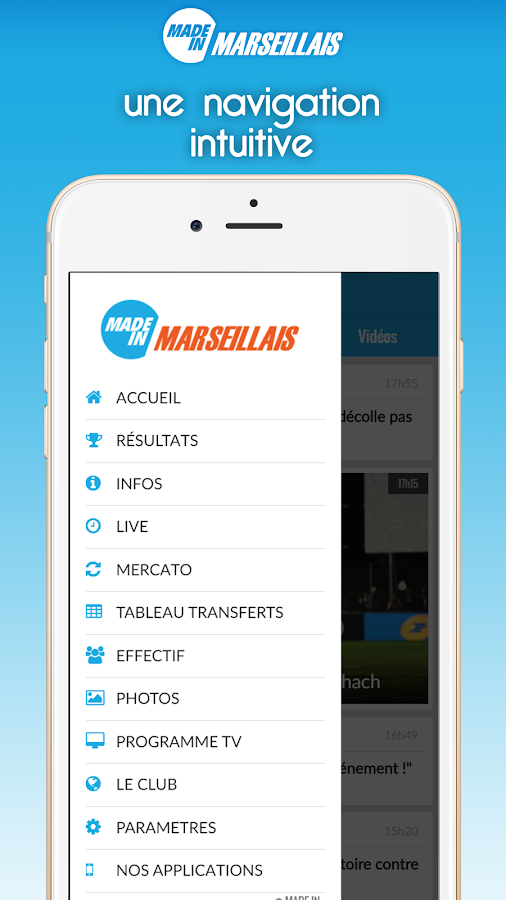 Foot Marseille- screenshot