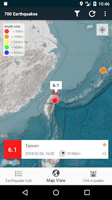 EQInfo - Global Earthquakesのおすすめ画像3