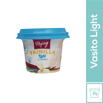 HELADO POPSY VAINILLA LIGHT