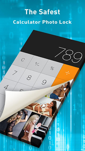 Calculator plus photo vault
