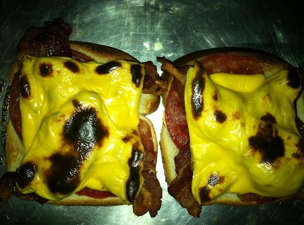 ***These open face sandwiches are good with nothing on them, but we do like...