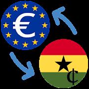Euro to Ghana Cedi / EUR to GHS Converter
